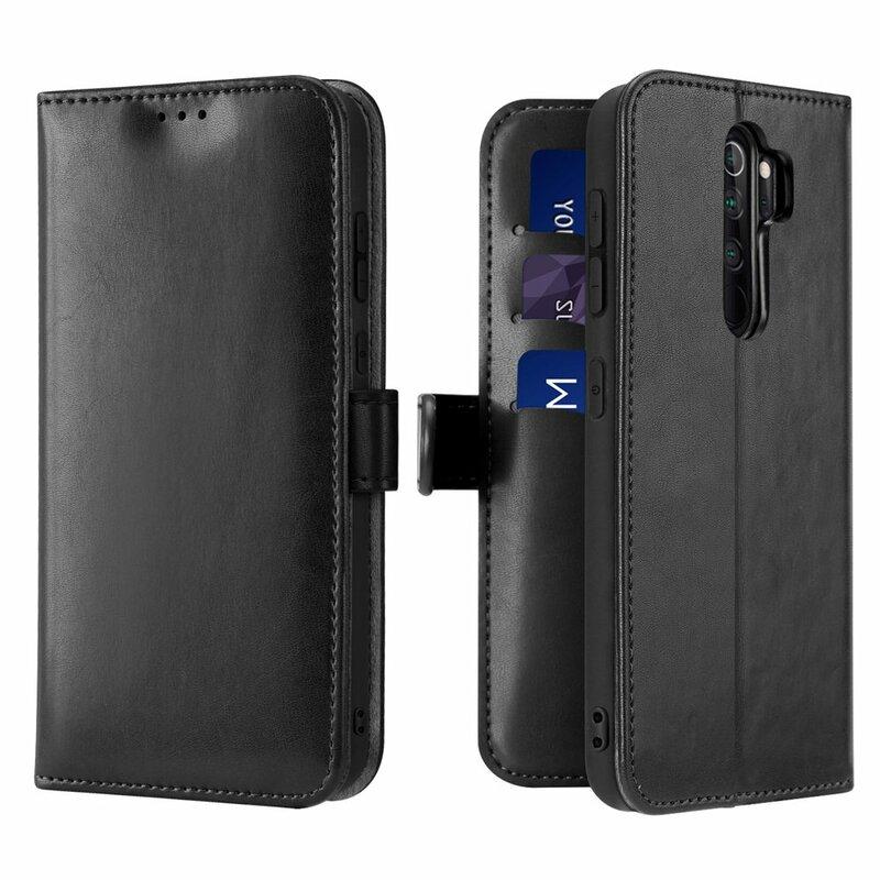 Husa Xiaomi Redmi Note 8 Pro Dux Ducis Kado Series Book - Negru