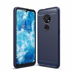 Husa Nokia 7.2 TPU Carbon - Albastru