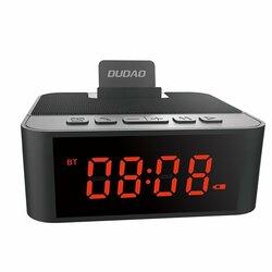 Boxa Portabila Bluetooth Dudao Y5 Multifunctional Alarm Clock, Phone Holder, Card Reader, Radio FM - Negru