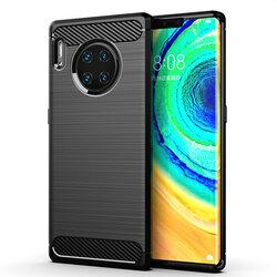 Husa Huawei Mate 30 TPU Carbon - Negru