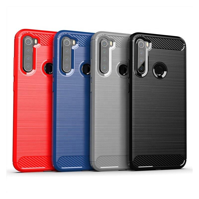 Husa Xiaomi Redmi Note 8 TPU Carbon - Negru
