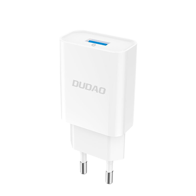 Incarcator Priza Dudao A3EU Home Travel Adapter USB 5V/2.4A Quick Charge QC3.0 - Alb