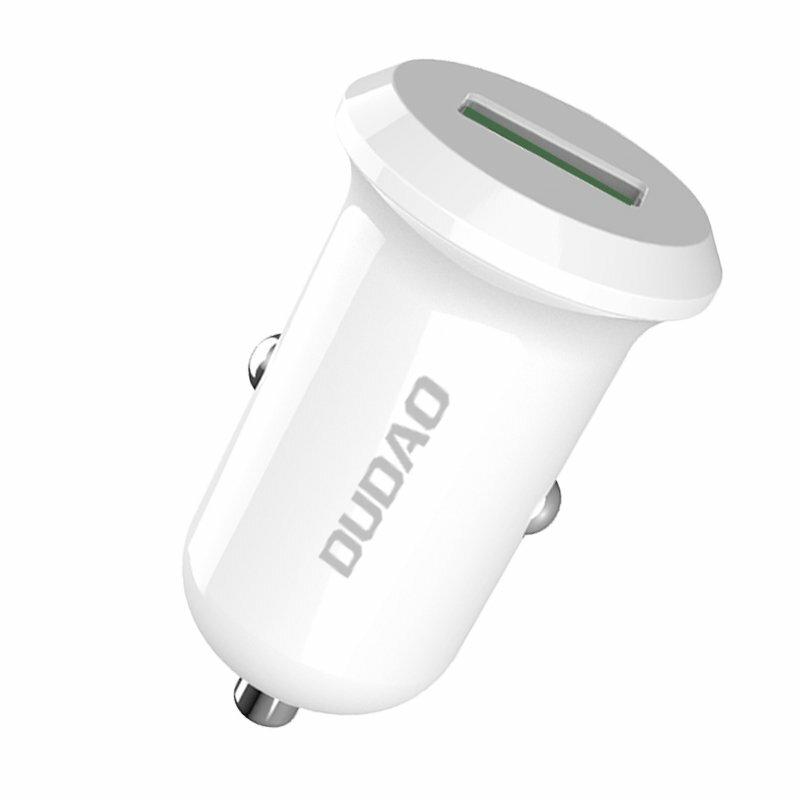 Incarcator Auto Dudao R4 Universal USB Quick Charge 4A QC3.0 15W - Negru