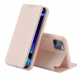 Husa iPhone 11 Pro Max Dux Ducis Skin X Series Flip Stand Book - Roz