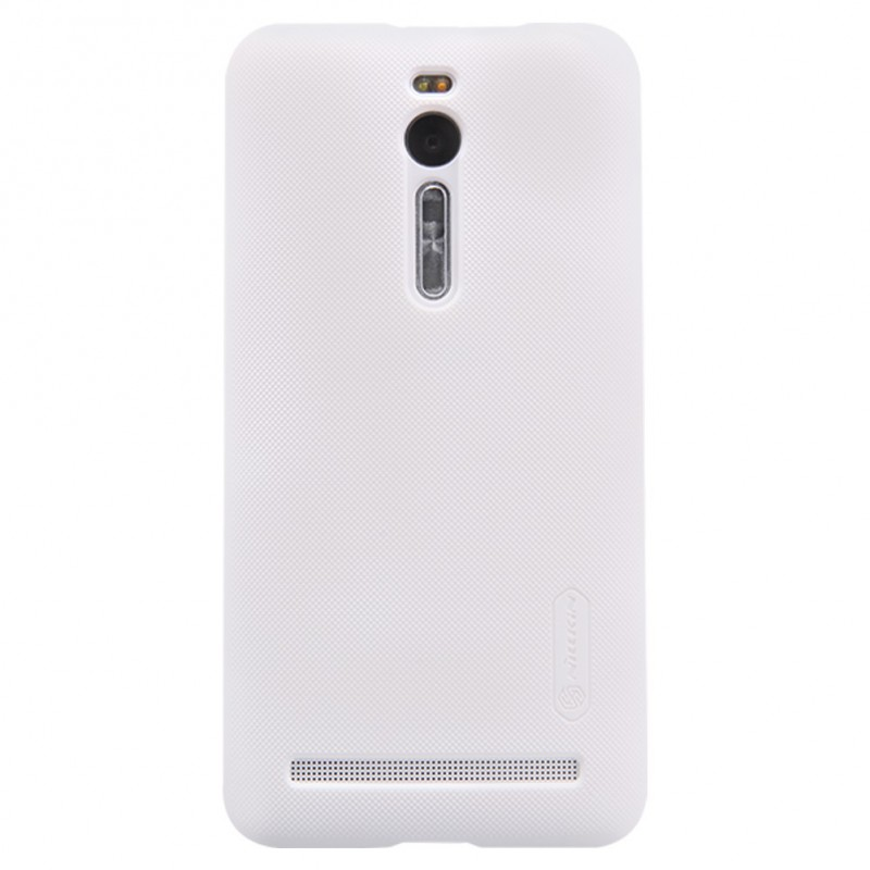 Husa Asus Zenfone 2 (5.5 inch) Nillkin Frosted White