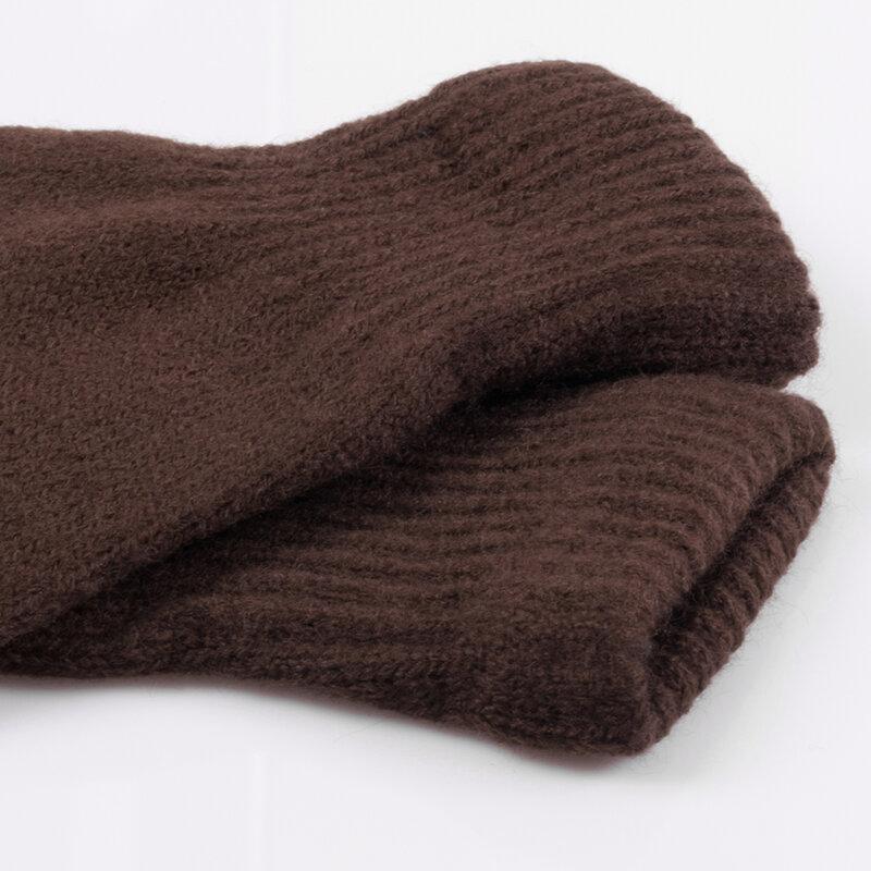 Manusi touchscreen unisex Acrylic Fiber, acrilic, maro
