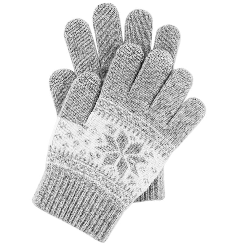 Manusi Touchscreen Snow - Argintiu