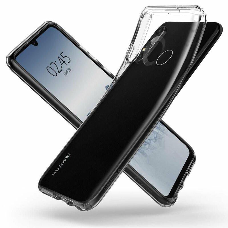 Bumper Huawei P30 Lite Spigen Liquid Crystal - Clear