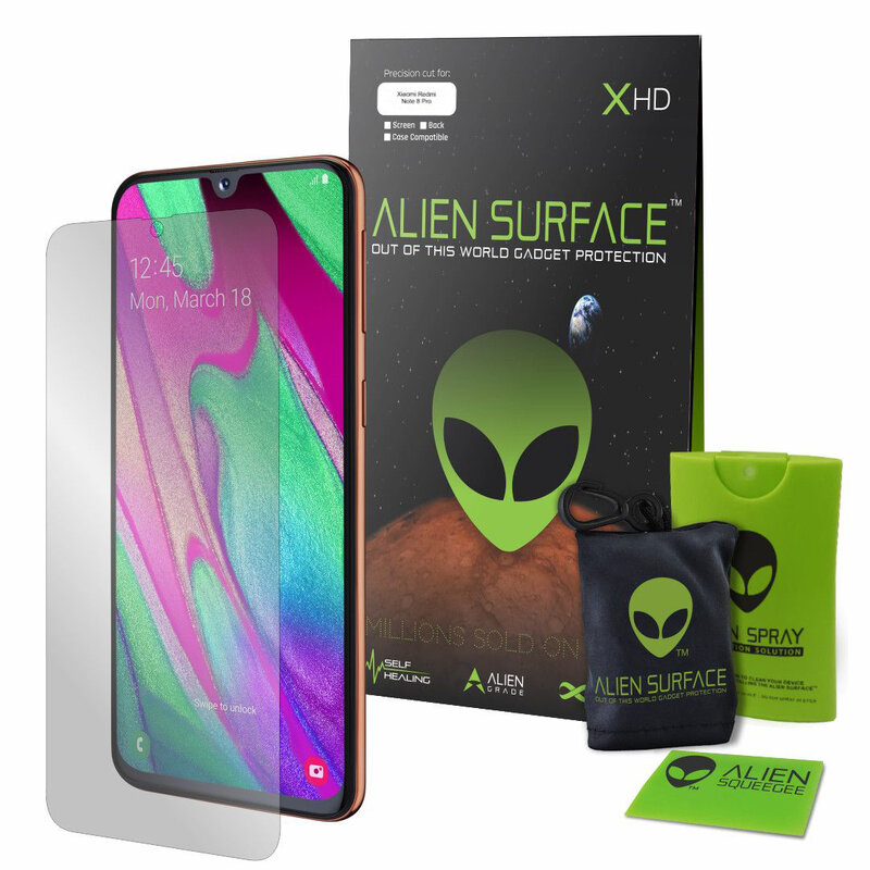 Folie Regenerabila Xiaomi Redmi Note 8 Pro Alien Surface XHD, Full Face - Clear