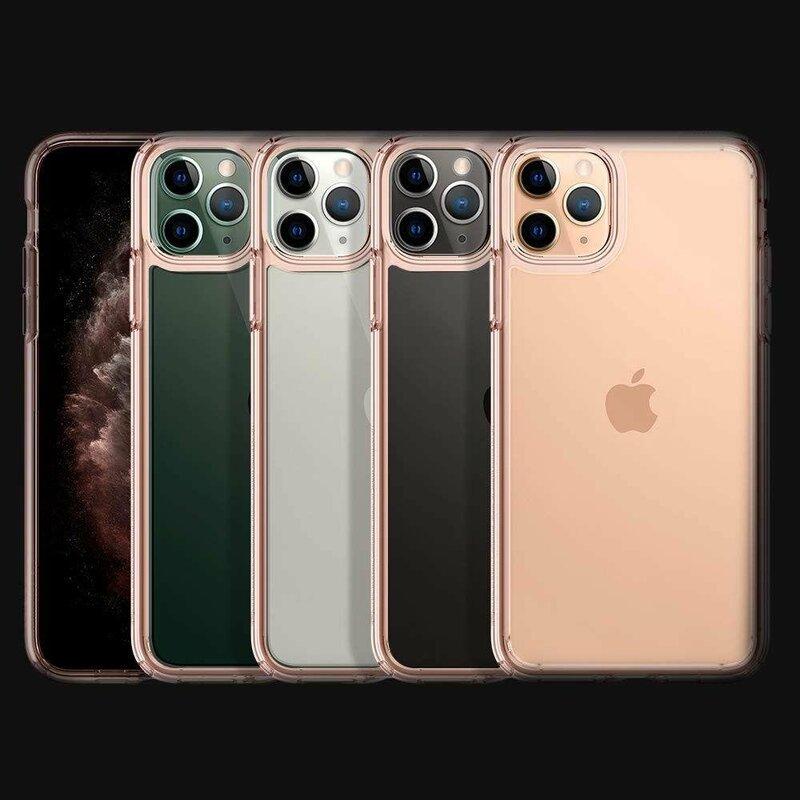 Husa iPhone 11 Pro Spigen Ultra Hybrid - Rose Crystal