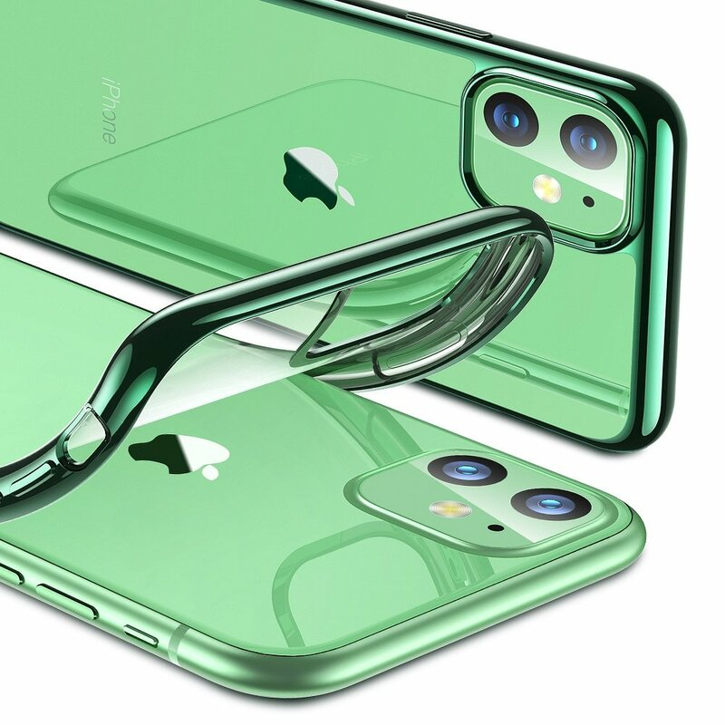 Husa iPhone 11 ESR Essential Crown - Pine Green