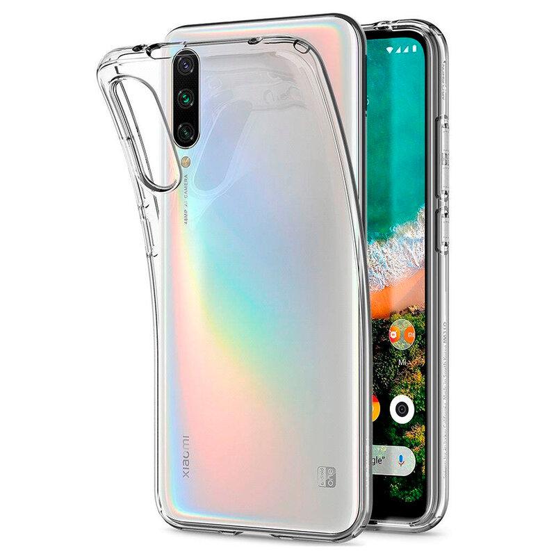 Husa Xiaomi Mi A3 / Mi CC9e Spigen Liquid Crystal - Crystal Clear