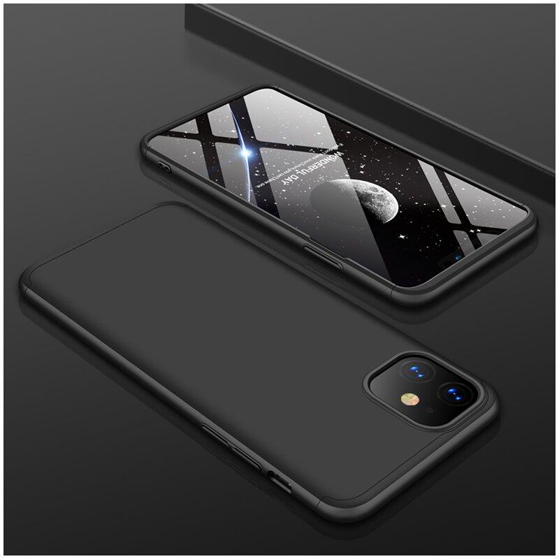 Husa iPhone 11 GKK 360 Full Cover Negru