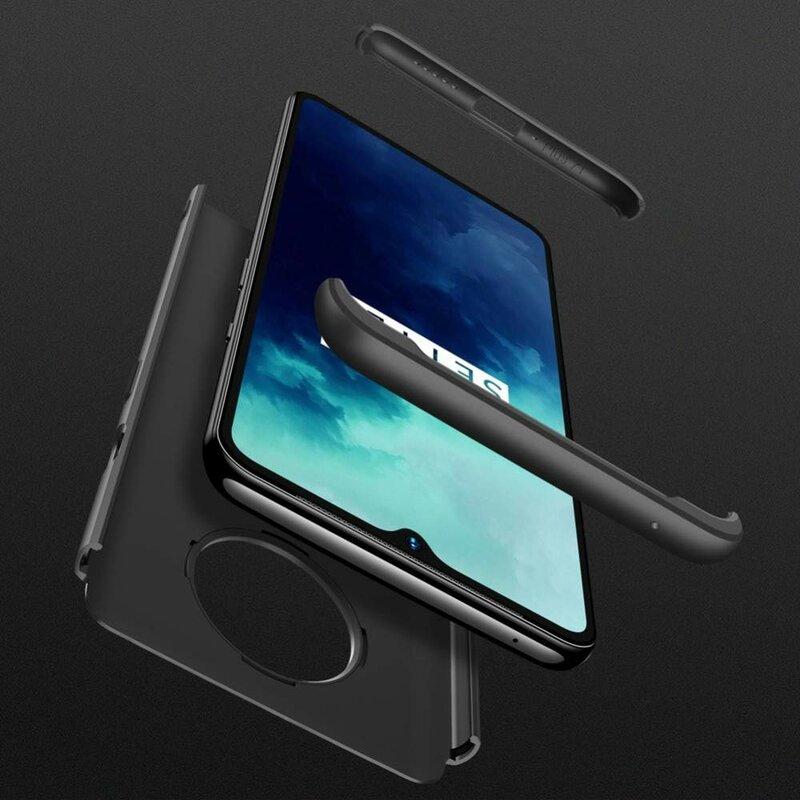 Husa OnePlus 7T GKK 360 Full Cover Negru