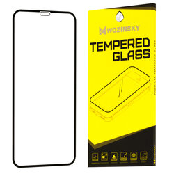 Folie Protectie Wozinsky iPhone XS FullGlue FullCover - Black