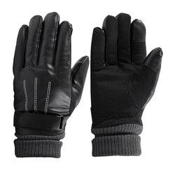 Manusi Touchscreen Barbati Keep Warm Leather - Marimea XL - Negru