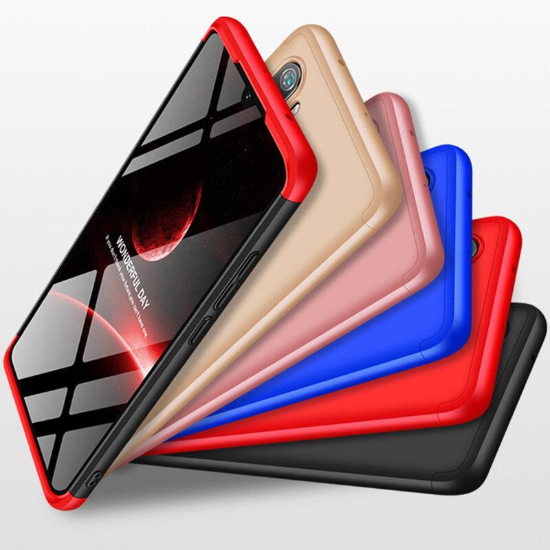 Husa Xiaomi Mi CC9 Pro GKK 360 Full Cover Negru-Albastru