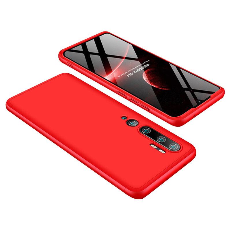 Husa Xiaomi Mi CC9 Pro GKK 360 Full Cover Rosu