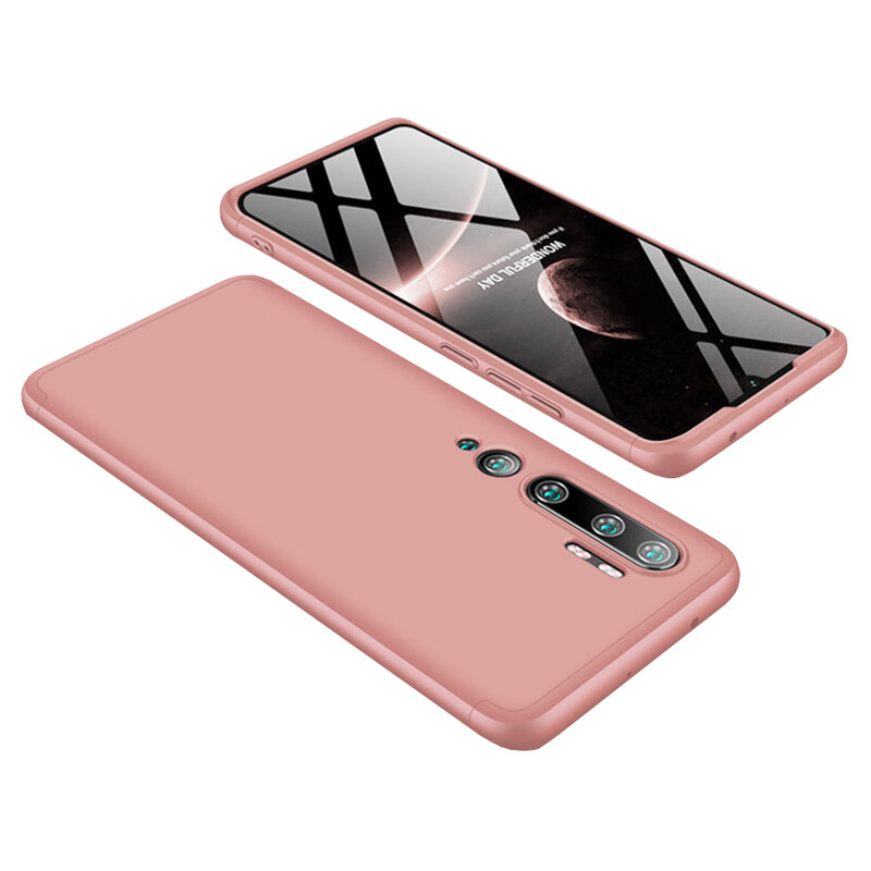 Husa Xiaomi Mi CC9 Pro GKK 360 Full Cover Roz