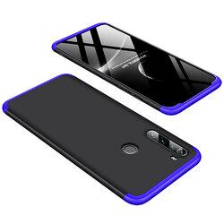 Husa Xiaomi Redmi Note 8 GKK 360 Full Cover Negru-Albastru