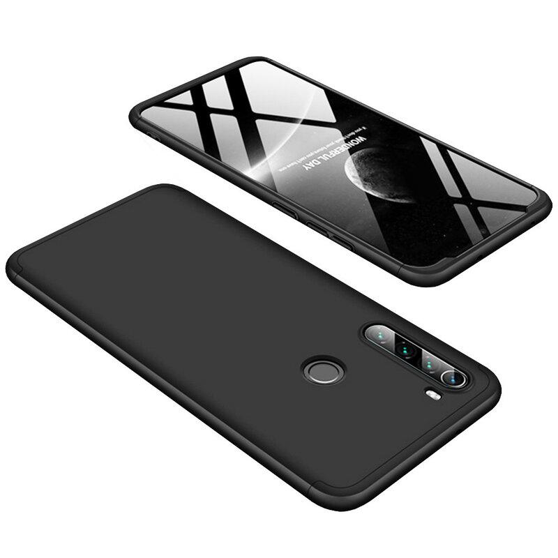 Husa Xiaomi Redmi Note 8T GKK 360 Full Cover Negru