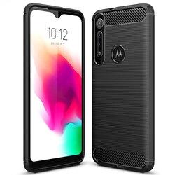 Husa Motorola Moto G8 Play TPU Carbon - Negru
