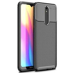 Husa Xiaomi Redmi 8A Carbon Skin - Negru