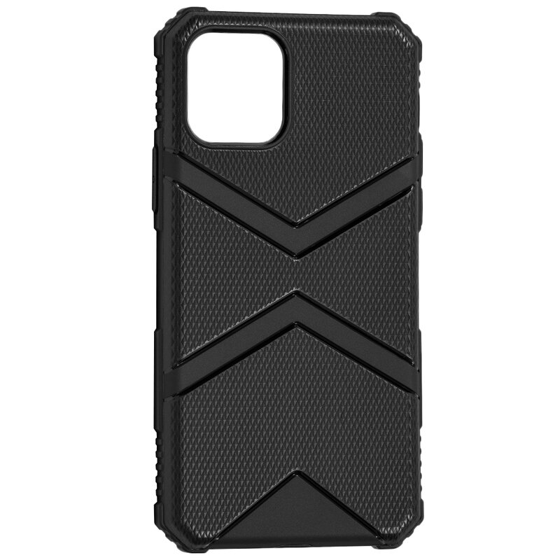 Husa iPhone 11 Pro Armor Shield Silicon TPU - Negru