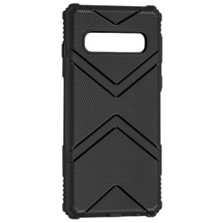 Husa Samsung Galaxy S10 Armor Shield Silicon TPU - Negru