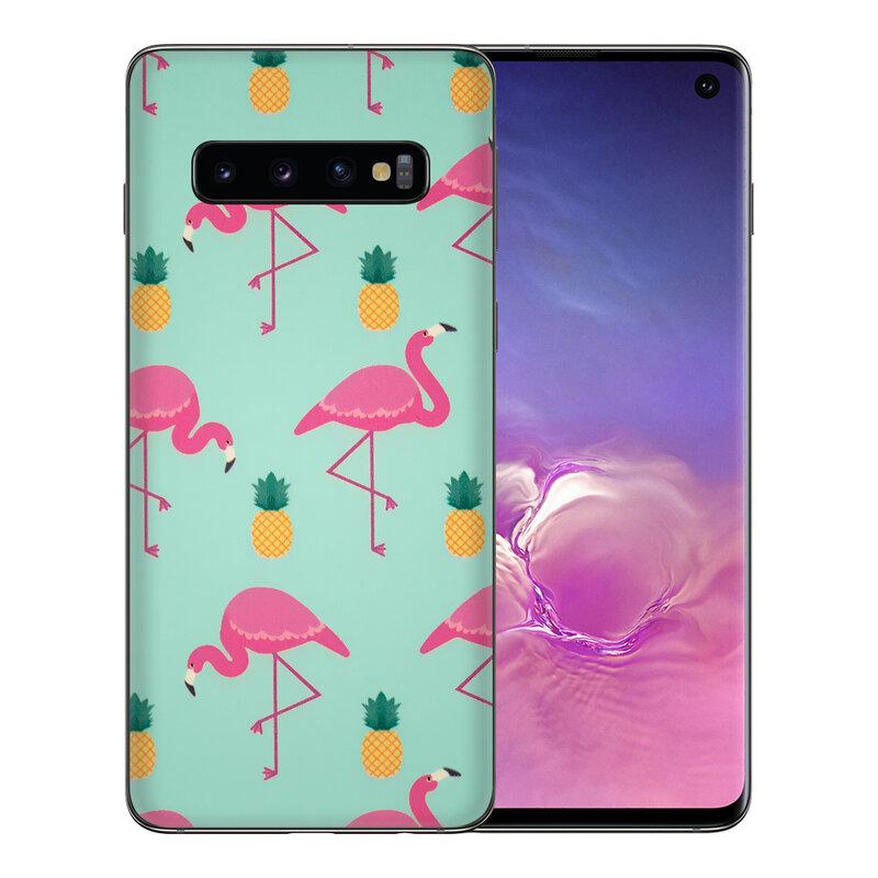 Skin Samsung Galaxy S10 - Sticker Mobster Autoadeziv Pentru Spate - Flamingo