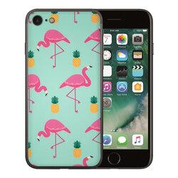 Skin iPhone 7 - Sticker Mobster Autoadeziv Pentru Spate - Flamingo