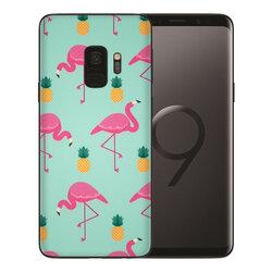 Skin Samsung Galaxy S9 - Sticker Mobster Autoadeziv Pentru Spate - Flamingo
