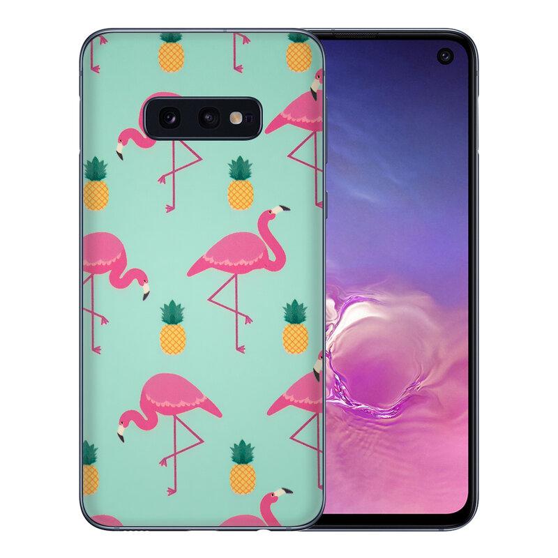 Skin Samsung Galaxy S10e - Sticker Mobster Autoadeziv Pentru Spate - Flamingo