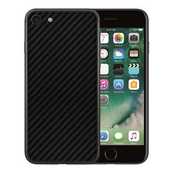 Skin iPhone 8 - Sticker Mobster Autoadeziv Pentru Spate - Carbon Black