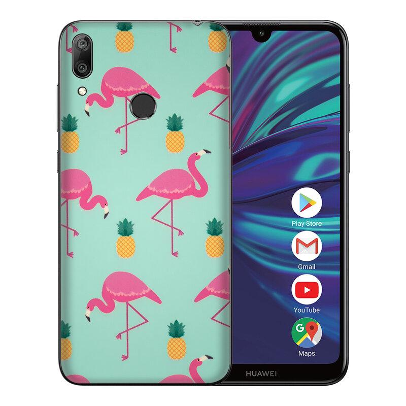 Skin Huawei Y7 2019 - Sticker Mobster Autoadeziv Pentru Spate - Flamingo