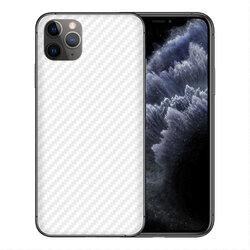 Skin iPhone 11 Pro Max - Sticker Mobster Autoadeziv Pentru Spate - Carbon White