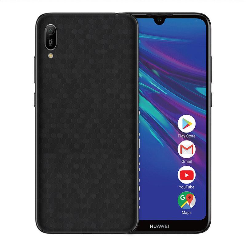 Skin Huawei Y6 2019 - Sticker Mobster Autoadeziv Pentru Spate - Hex Black