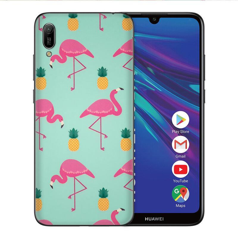 Skin Huawei Y6 2019 - Sticker Mobster Autoadeziv Pentru Spate - Flamingo