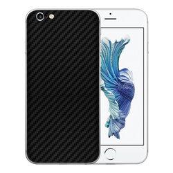 Skin iPhone 6, 6s - Sticker Mobster Autoadeziv Pentru Spate - Carbon Black