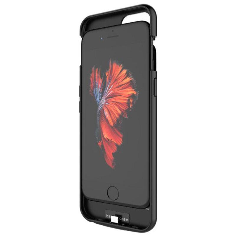 Husa Cu Baterie iPhone 7 Tech-Protect Battery Pack 4000mAh - Negru