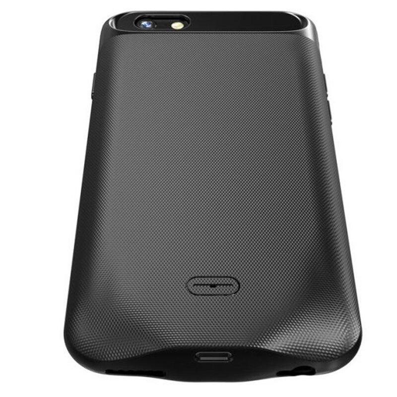 Husa Cu Baterie iPhone 8 Plus Tech-Protect Battery Pack 5000mAh - Negru