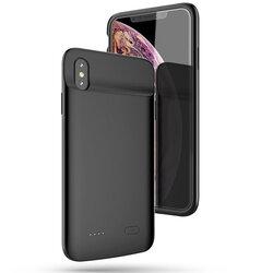 Husa Cu Baterie iPhone XS Tech-Protect Battery Pack 4100mAh - Negru