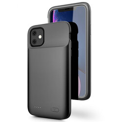 Husa Cu Baterie iPhone 11 Pro Max Tech-Protect Battery Pack 5000mAh - Negru