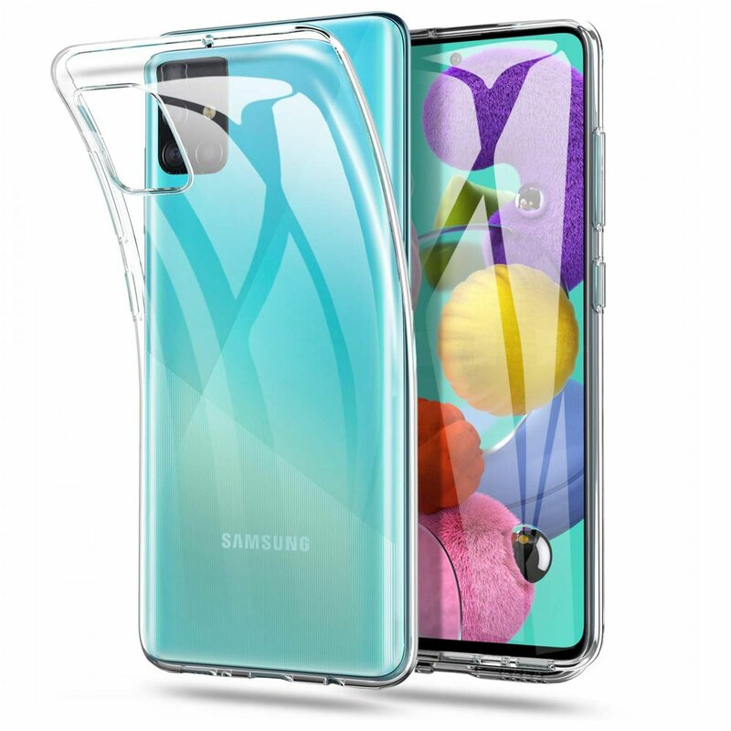 Husa Samsung Galaxy A71 Tech-Protect FlexAir - Crystal