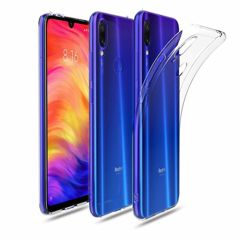 Husa Xiaomi Redmi Note 7 Tech-Protect FlexAir - Crystal