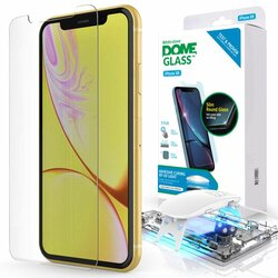 Folie Sticla iPhone 11 Whitestone Dome Full Cover Case Friendly Cu Lampa UV - Clear