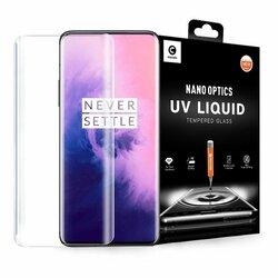 Folie Sticla OnePlus 7T Pro Mocolo UV Glass - Clear
