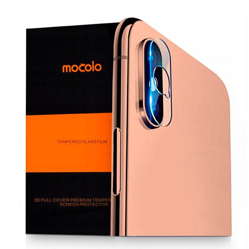 Folie Sticla Camera OnePlus 7T Pro Mocolo Back Lens 9H - Clear