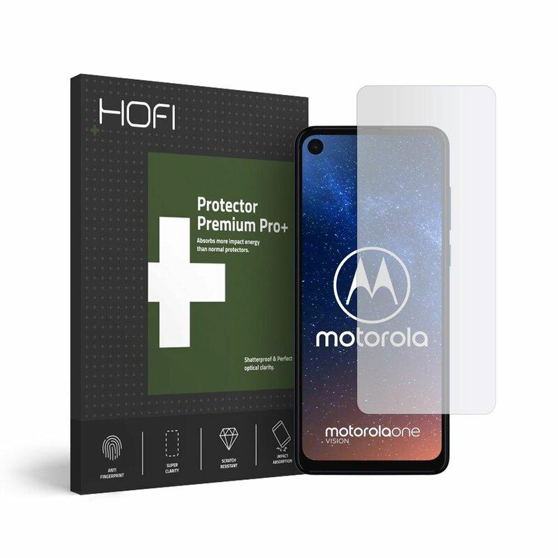 Folie Sticla Motorola One Vision Hofi Glass Pro+ 9H - Clear