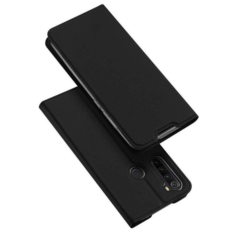 Husa Xiaomi Redmi Note 8T Dux Ducis Flip Stand Book - Negru